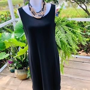Chico's 10 Little Black Dress Lined Superb